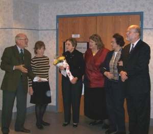 Dedication of the Goldberg UN Photo Exhibit