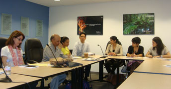 Jayan Kalathil with Volunteers